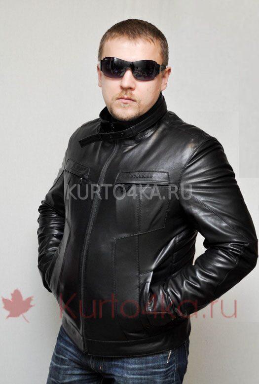 Кожаная куртка scabbard