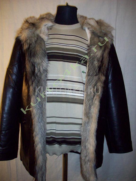 Купить Мужскую Куртку С Волчьим Мехом