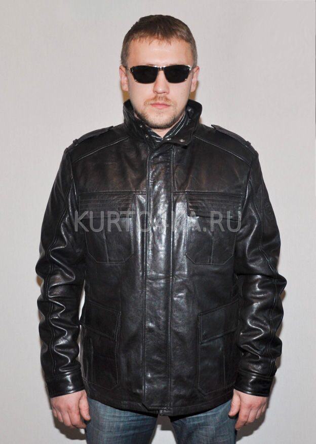 Купить Кожаную Куртку Мужскую В Москве