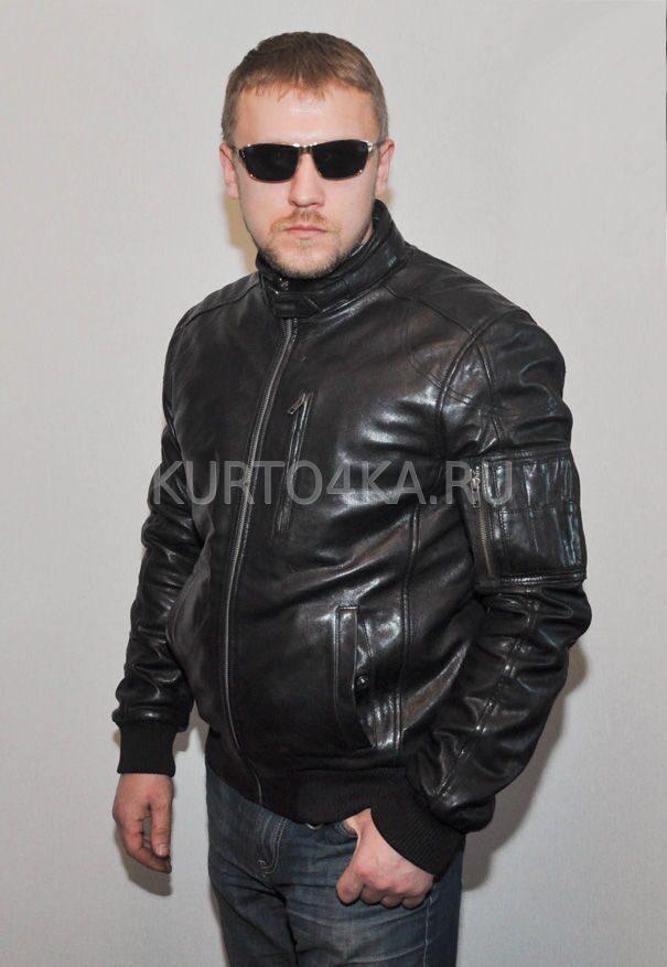 Кожаная Куртка Bugatti Мужская Купить