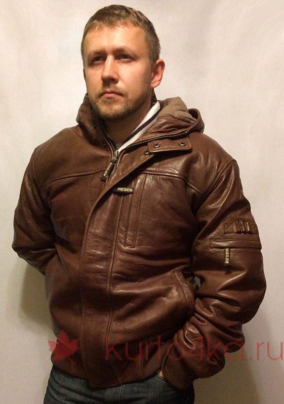 Купить Мужскую Куртку Кожанную Пилот