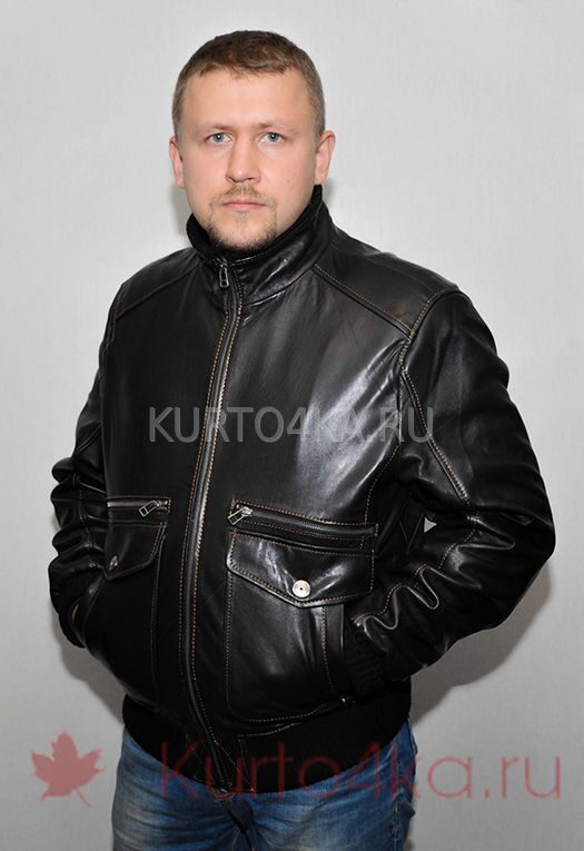 fb89ca641a7 Купить со скидкой куртку из натуральной кожи. Для прохладной погоды ...