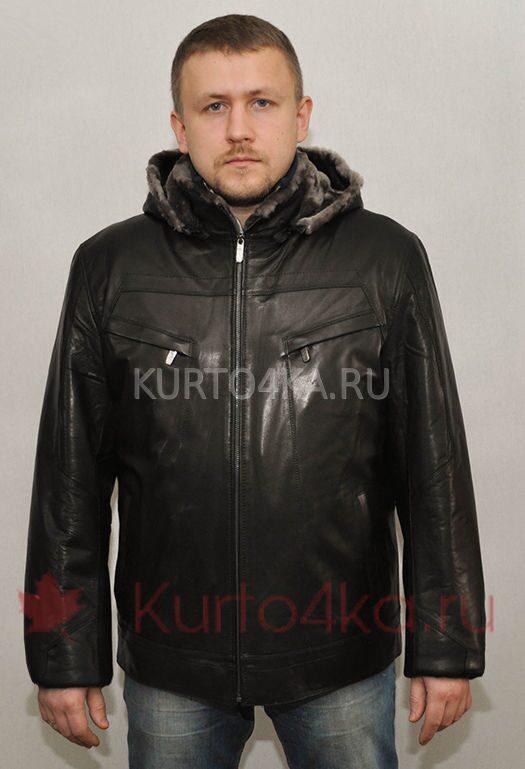 c2c68f26349b Зимняя кожаная куртка из натуральной кожи на меху. Доступная цена на ...